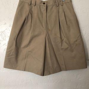 Allison Daley khaki shorts, size 16